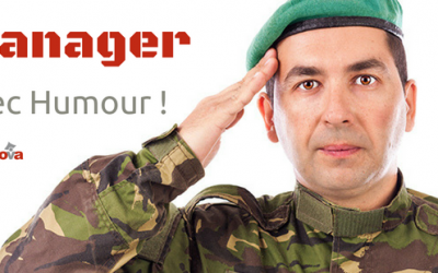 Manager avec humour